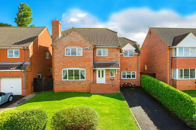 Thumbnail Detached house for sale in Ostlers Way, Kettering