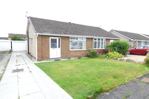 Thumbnail Semi-detached bungalow for sale in Wentworth Crescent, Westgate, Morecambe
