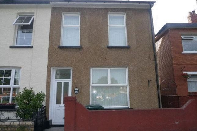 Thumbnail End terrace house to rent in Goldcroft Common, Caerleon, Newport