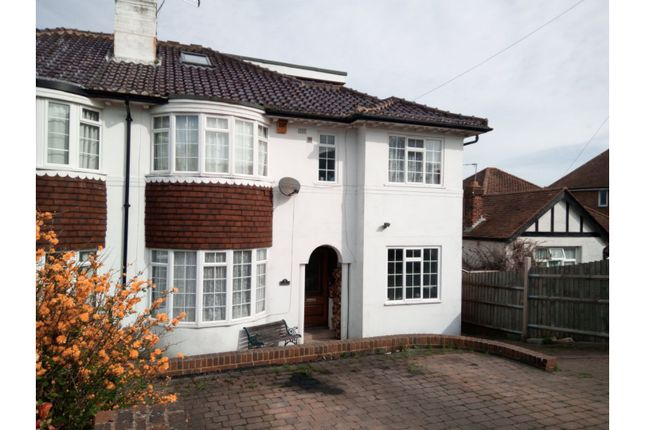 Thumbnail Semi-detached house for sale in Tudor Avenue, St. Leonards-On-Sea