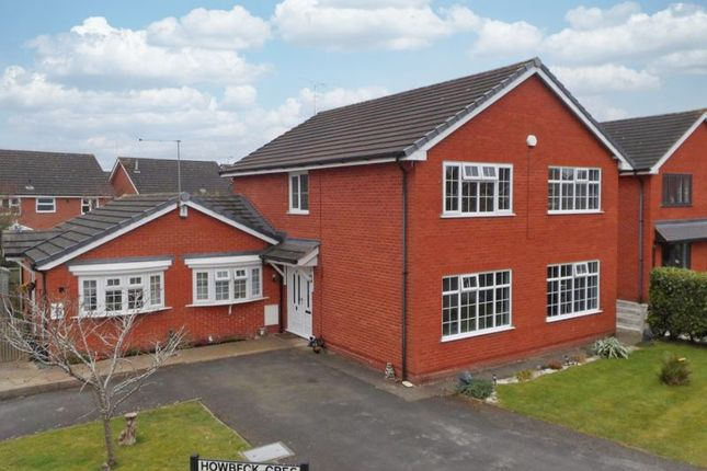 Thumbnail Detached house for sale in Howbeck Crescent, Wybunbury, Nantwich