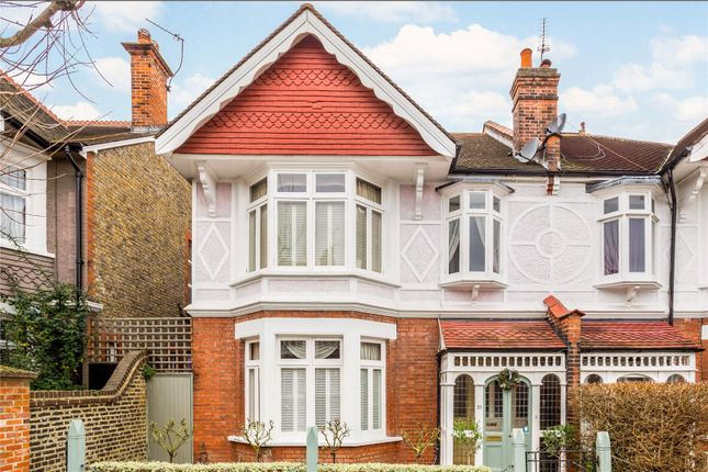 Thumbnail Semi-detached house for sale in Luttrell Avenue, London