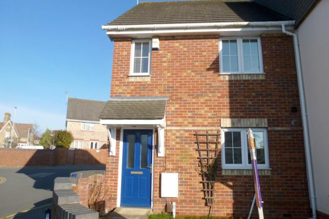 Thumbnail End terrace house to rent in Kings Close, Oakdale, Poole