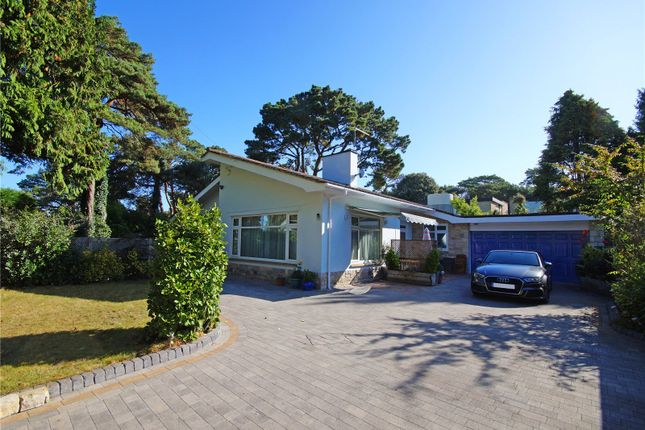 Thumbnail Detached bungalow for sale in Canford Crescent, Canford Cliffs, Poole, Dorset