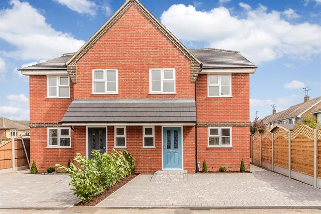 Thumbnail Semi-detached house for sale in Romsey Close, Benfleet, Essex