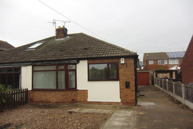 Thumbnail Semi-detached bungalow to rent in Wolsey Croft, Sherburn In Elmet, Leeds