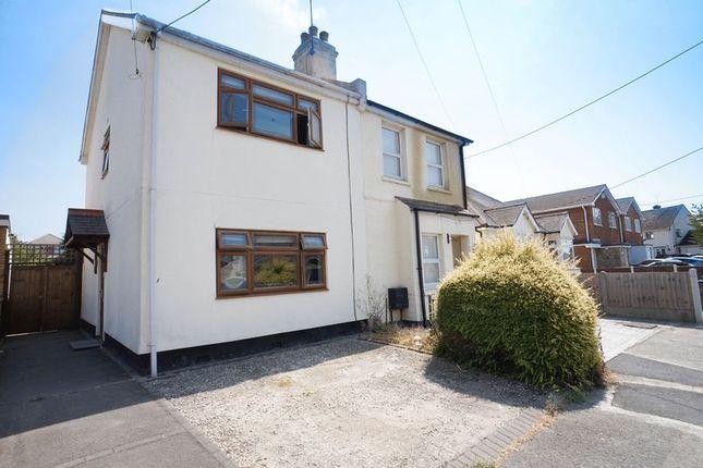 Thumbnail Semi-detached house for sale in Fleet Road, Benfleet