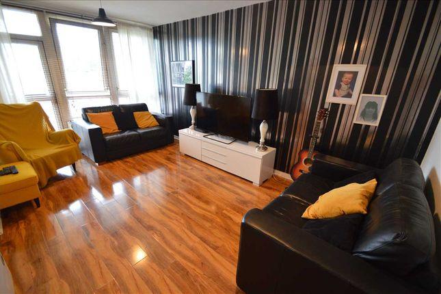 Lounge of Dougrie Place, Castlemilk, Glasgow G45