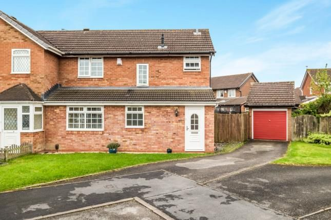 Thumbnail Semi-detached house for sale in Caldeford Avenue, Shirley, Solihull, West Midlands