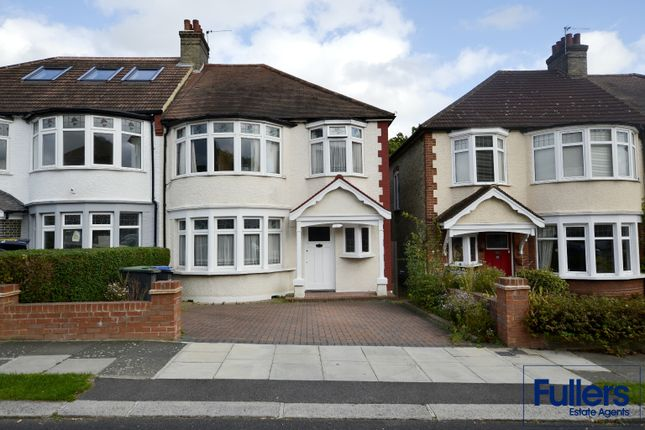 3 bed semi-detached house for sale in Hillfield Park, Winchmore Hill