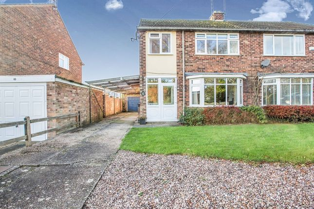 Thumbnail Semi-detached house for sale in Station Road, Hatton, Warwick