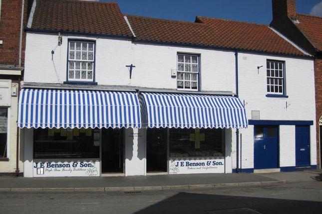Thumbnail Retail premises for sale in Bensons, 23 King Street, Barton-Upon-Humber