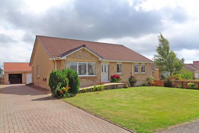 Thumbnail Detached bungalow for sale in Pentland Drive, Kennoway, Leven