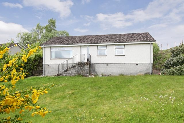 Thumbnail Bungalow for sale in Manse Road, Killin, Perthshire