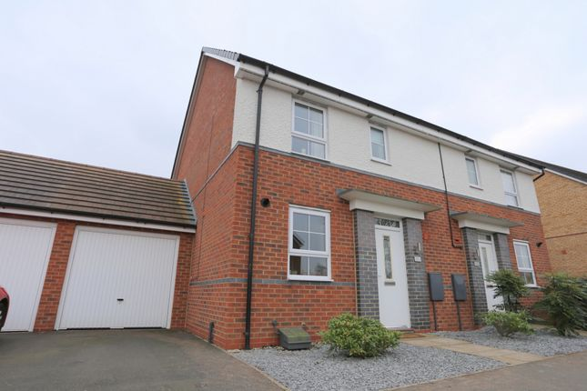 Thumbnail Semi-detached house to rent in Pipers View, Meir