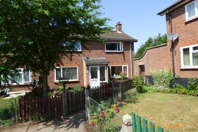 Thumbnail Semi-detached house to rent in The Street, Mendham, Harleston.