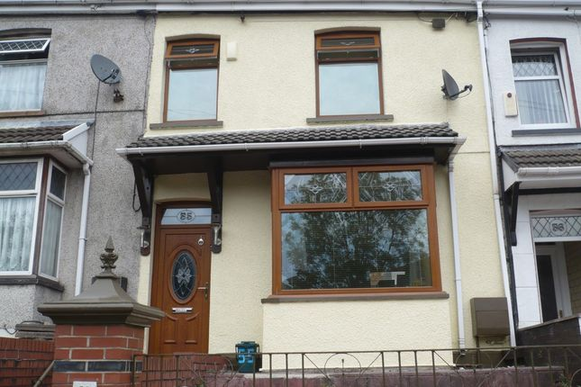 Thumbnail Terraced house for sale in Cemetery Road, Porth