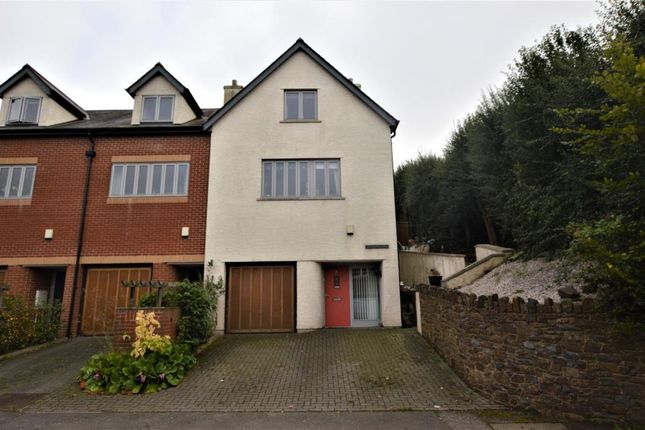 Thumbnail End terrace house for sale in Wynfrith Mews, Landscore, Crediton, Devon