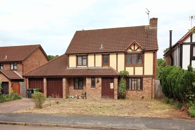 Thumbnail Detached house for sale in Pevensey Way, Frimley, Camberley