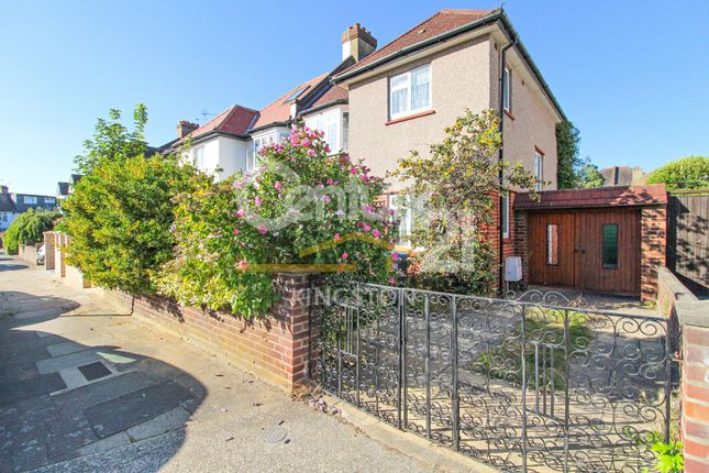 Thumbnail Semi-detached house for sale in Neville Road, Kingston Upon Thames, Surrey