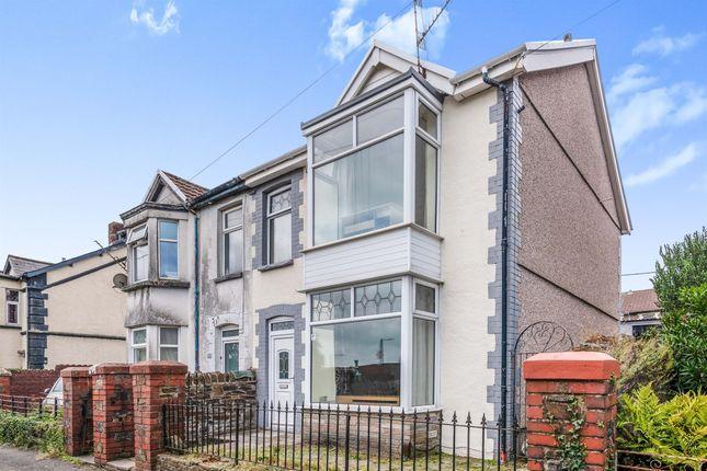 Thumbnail Semi-detached house for sale in Belle Vue Terrace, Treforest, Pontypridd
