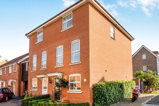 Thumbnail Semi-detached house to rent in Wagtail Drive, Bury St. Edmunds