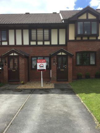 Thumbnail Terraced house to rent in Curlew Close, Uttoxeter