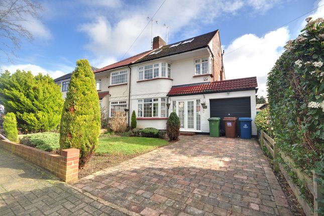 Thumbnail Semi-detached house to rent in Hill Road, Pinner