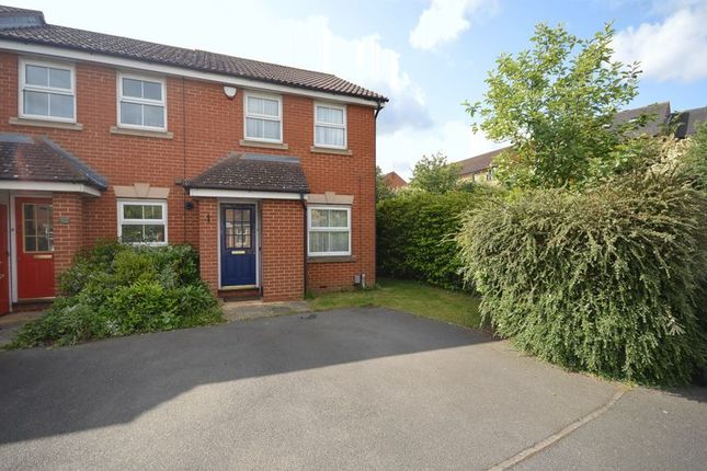 Thumbnail End terrace house for sale in Wraysbury Close, Leagrave, Luton