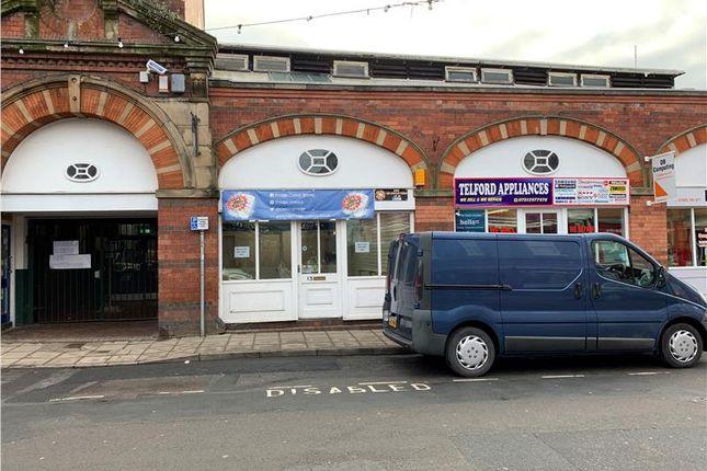Thumbnail Retail premises to let in Lock Up Shop Unit, 13 Market Street, Wellington, Telford, Shropshire