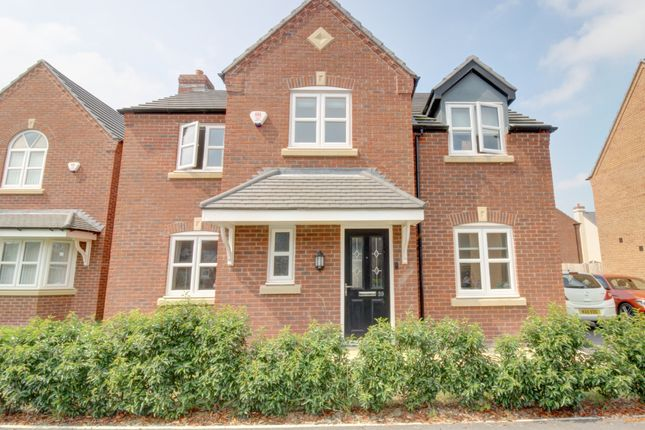 4 bed detached house for sale in Lostock Drive, Middlewich CW10