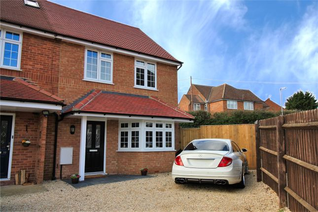 Thumbnail End terrace house for sale in Buckingham Ave, Flackwell Heath, Buckinghamshire