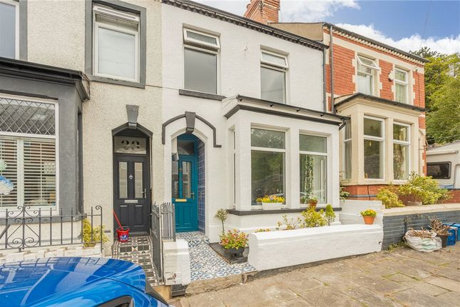 3 bed terraced house for sale in Preswylfa Street, Victoria Park, Cardiff CF5
