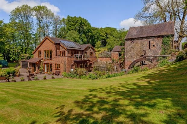 Thumbnail Detached house for sale in Mill Lane, Lower Moddershall, Moddershall, Stone