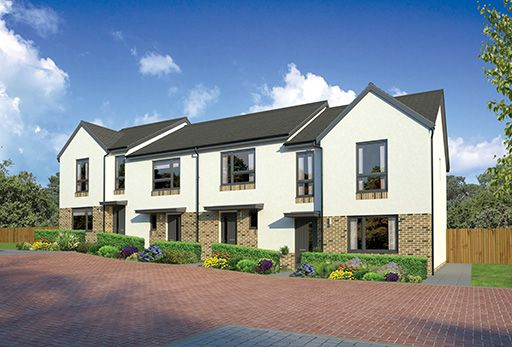 "Thumbnail Terraced house for sale in ""Argyll End"" at Kingswells, Aberdeen"