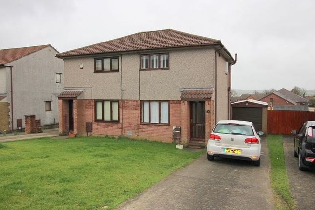 Thumbnail Semi-detached house to rent in Ashbrook, Brackla, Bridgend.