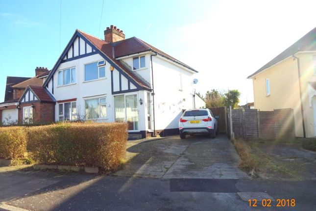 Thumbnail Semi-detached house to rent in Boxtree Lane, Harrow Weald, Middlesex