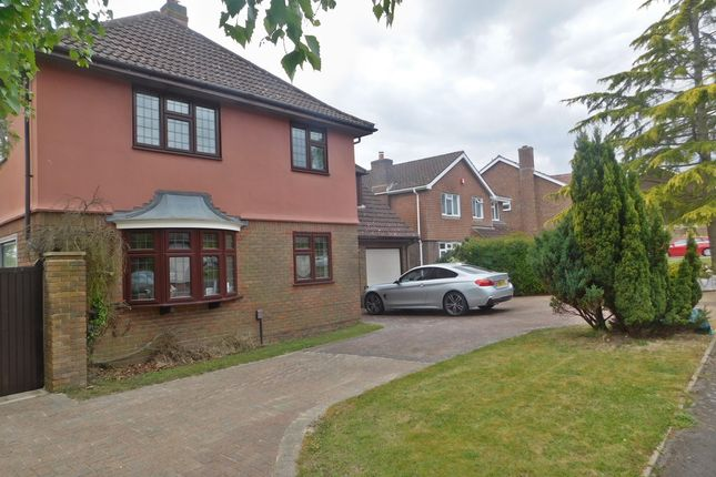 Thumbnail Detached house for sale in Burnham Wood, Fareham
