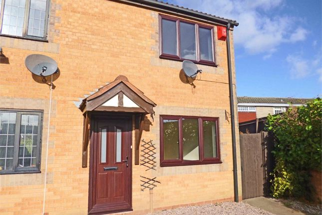 Thumbnail End terrace house to rent in Shakespeare Close, Leyfields, Tamworth, Staffordshire