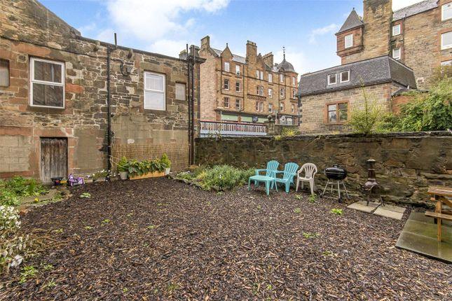 Back Garden of Watson Crescent, Polwarth, Edinburgh EH11