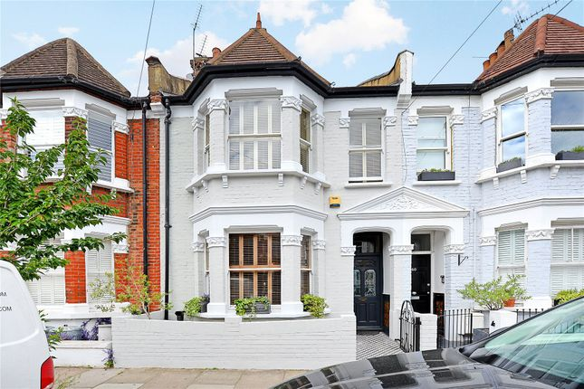 Thumbnail Terraced house for sale in Bronsart Road, Fulham, London