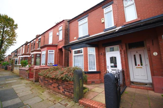 Thumbnail Terraced house to rent in Cecil Road, Eccles, Manchester