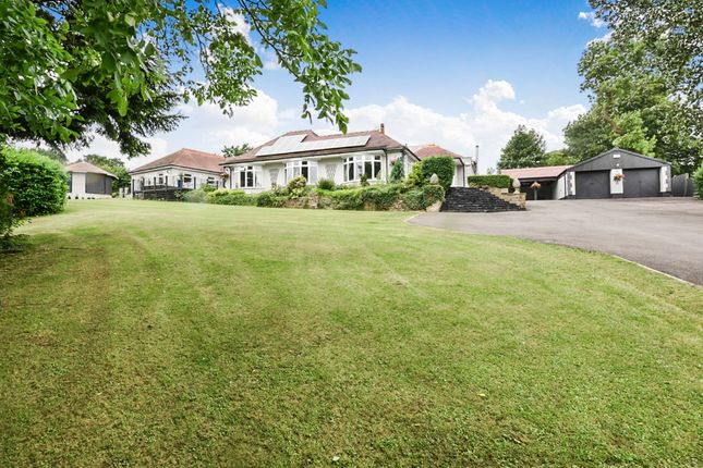 Thumbnail Detached bungalow for sale in Codnor Denby Lane, Denby Village, Ripley
