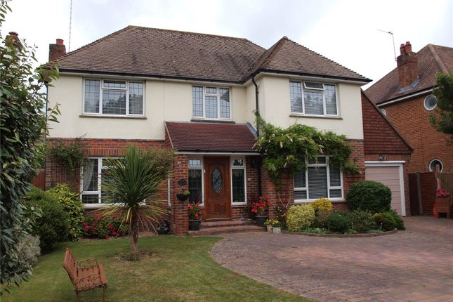 Thumbnail Detached house for sale in Ashurst Drive, Goring By Sea, West Sussex