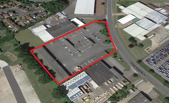 Light industrial to let in South Humberside Industrial Estate, Estate Road No 6, Grimsby, Lincolnshire