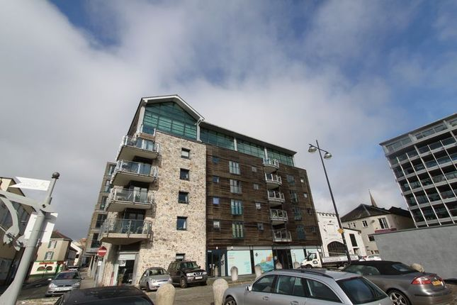 Thumbnail Flat to rent in Century Quay, Sutton Harbour, Plymouth