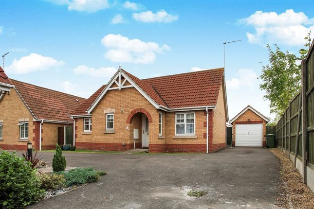 Thumbnail Detached bungalow for sale in Cawood Close, March