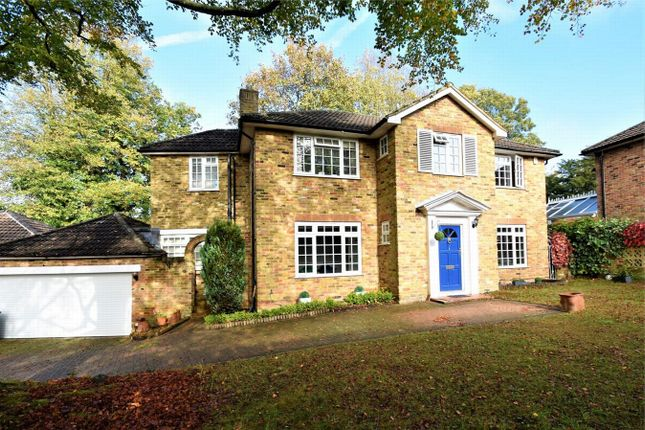 Thumbnail Detached house for sale in Devonshire Drive, Camberley, Surrey