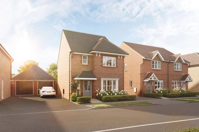 """3 bed detached house for sale in """"The Ripley"""" at Kennedy Meadow, Hungerford RG17"""