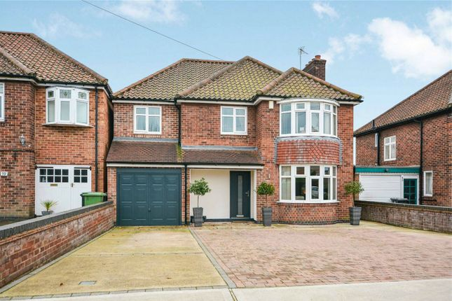 Thumbnail Detached house for sale in Hempland Avenue, Stockton Lane, York